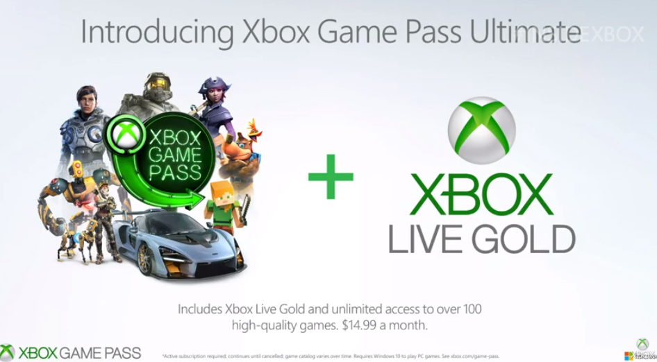 Microsoft announces Xbox Game Pass Ultimate