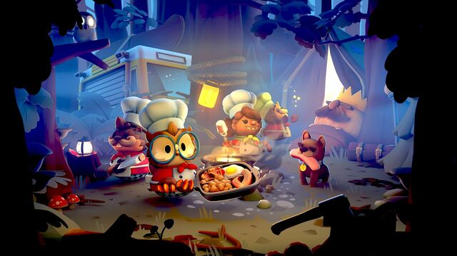 Overcooked 2 DLC Adds Outdoorsy Eats in Campfire Cook Off