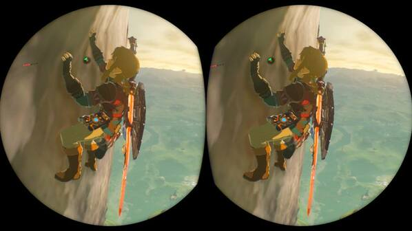The Legend of Zelda: Breath of the Wild's VR update isn't really VR