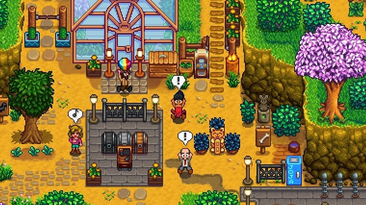 Stardew Valley S Next Big Update Brings New Farm Map Separate Funds In Multiplayer Eurogamer Net