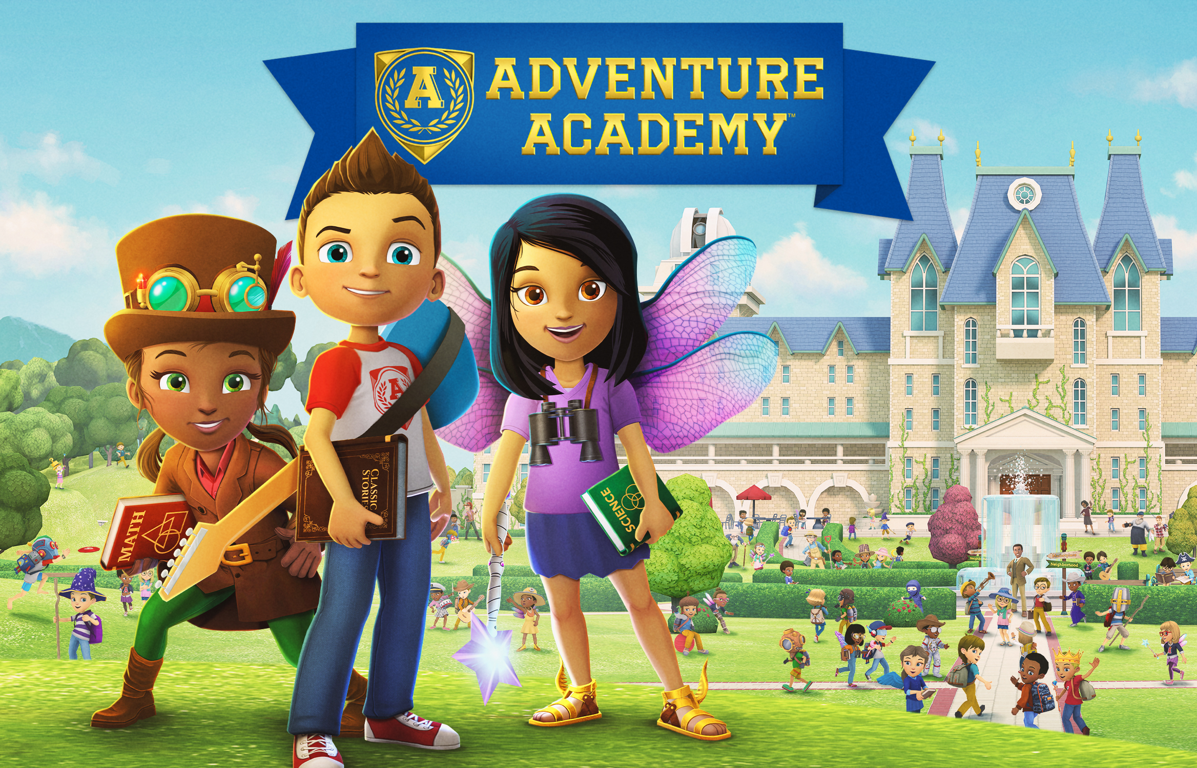 Adventure Academy: The educational MMO made by WoW, LOTRO devs