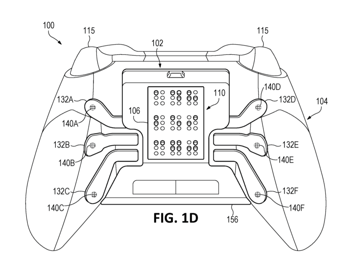 Microsoft files patent for controller accessory with Braille input and output