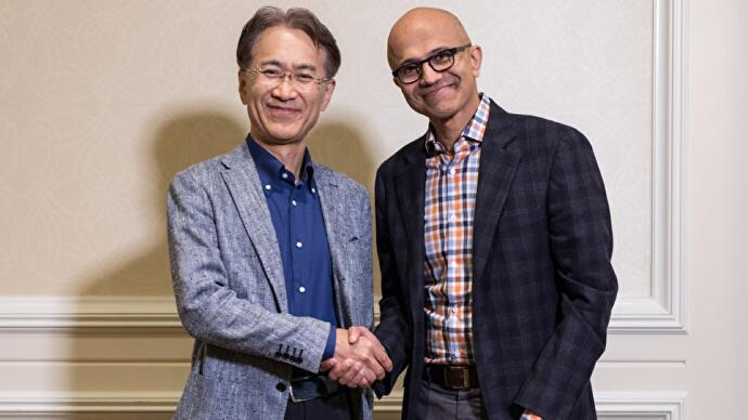 """Microsoft and Sony collaborating on """"cloud-based solutions for gaming experiences andcontent-streaming"""""""