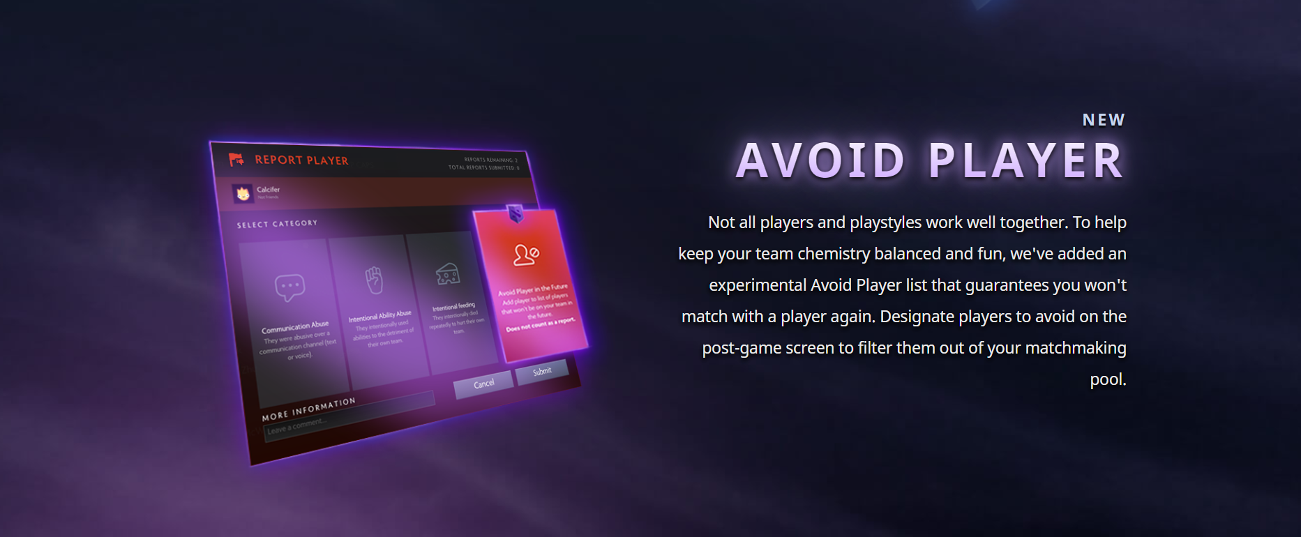 Valve lets players avoid toxic people in DOTA 2, charges for