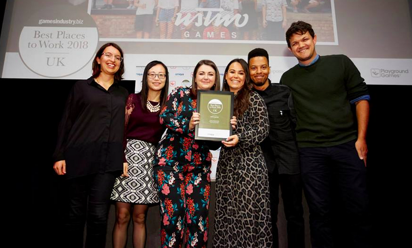 Submissions open for 2019 GamesIndustry.biz Best Places To Work Awards UK