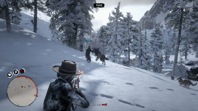 We Hunt Wolves for Sadie in Red Dead Online Story Mission
