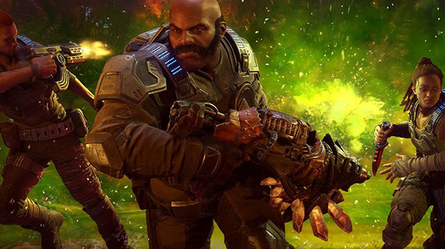 Watch Us Wreck the Hive in Gears 5's Escape Mode