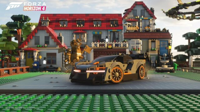 Forza Horizon 4 Adds Lego Cars in Lego Speed Champions 4 DLC