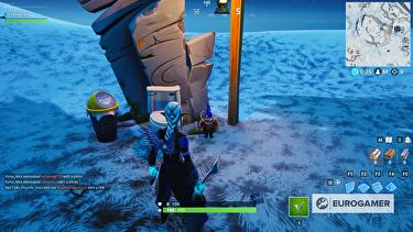 Fortnite Fortbyte 48 Locations Where To Find Fortbyte 48 Accessible By Using The Vox Pickaxe To Smash The Gnome Beside A Mountain Top Throne In Fortnite Eurogamer Net