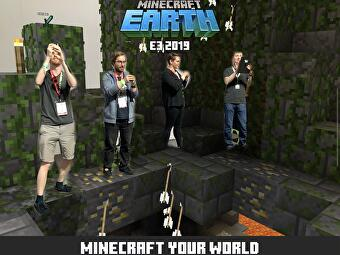 Minecraft Earth lets you burn down your creations with your