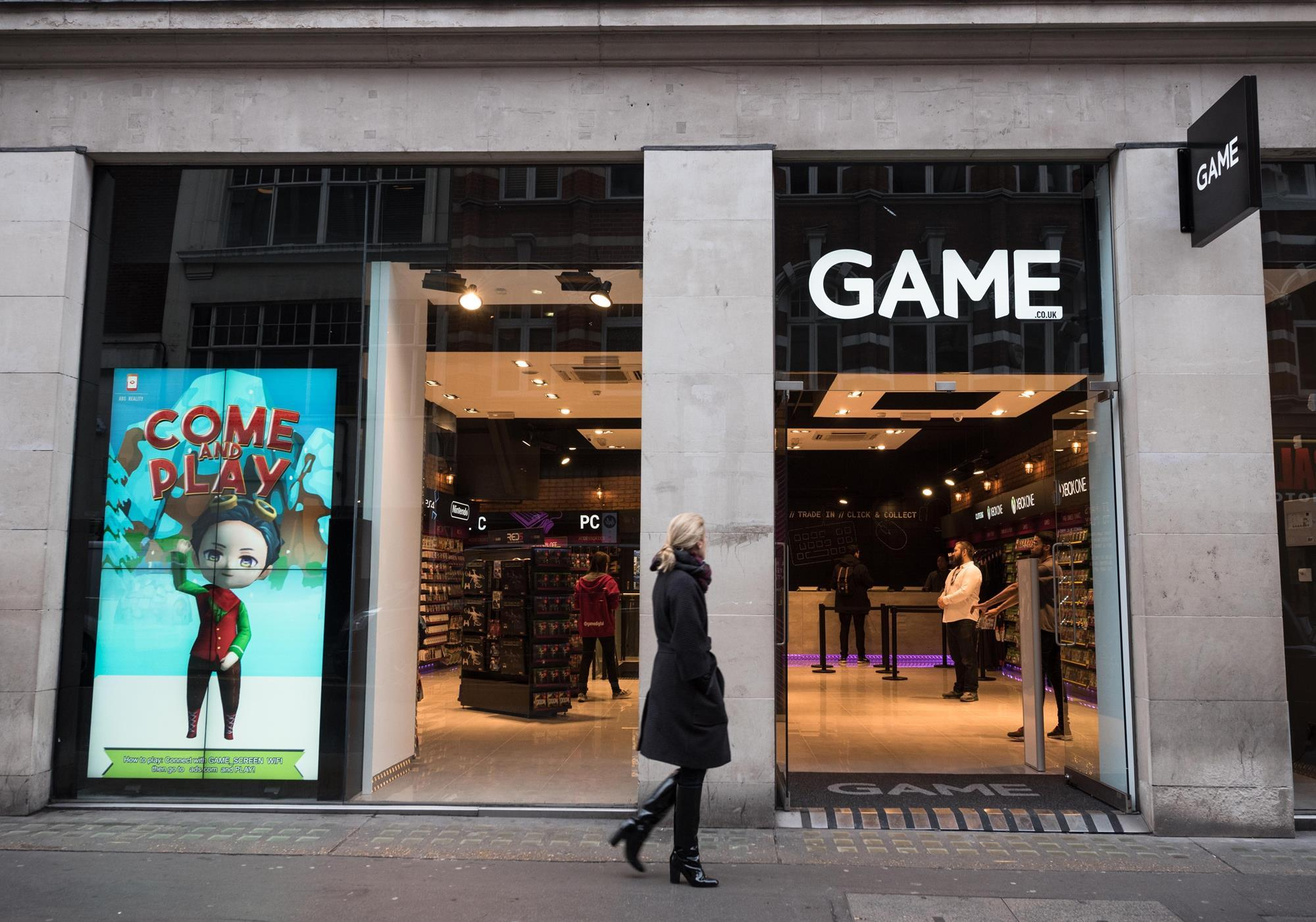 Sports Direct now owns 84% of GAME