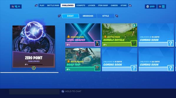 Fortnite has changed how challenges work, and there's less to do for