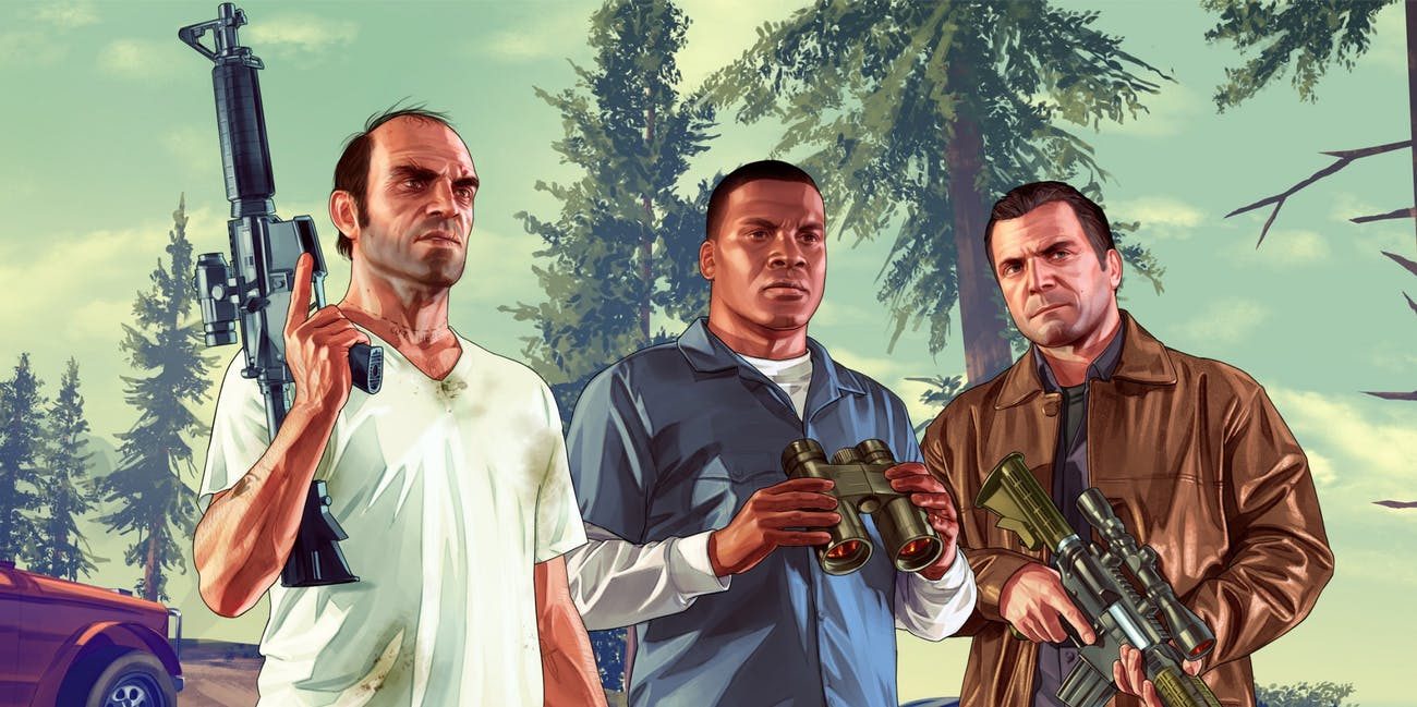 Grand Theft Auto V is back on top in the EMEAA charts
