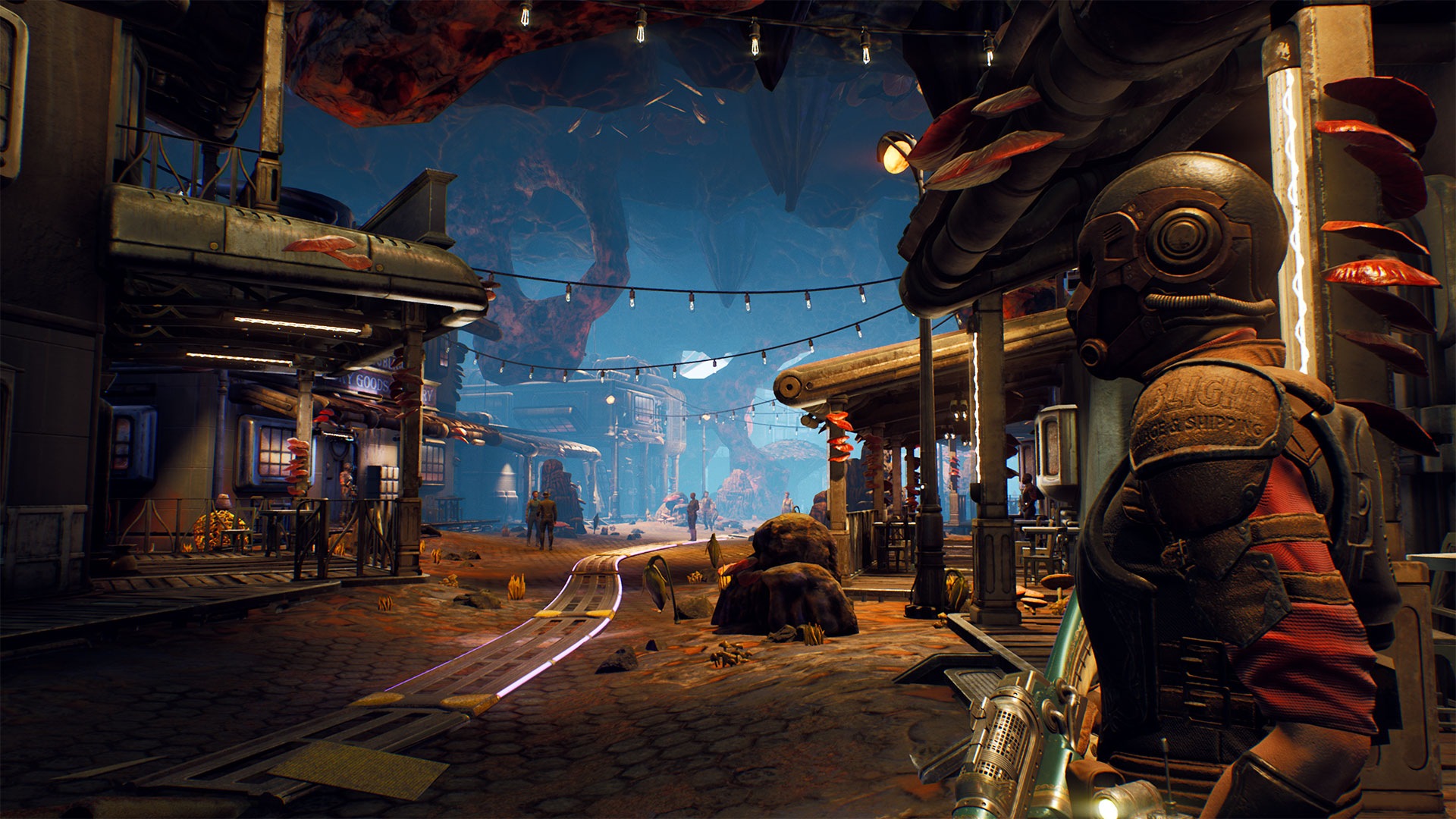 Blending comedy with capitalism in The Outer Worlds
