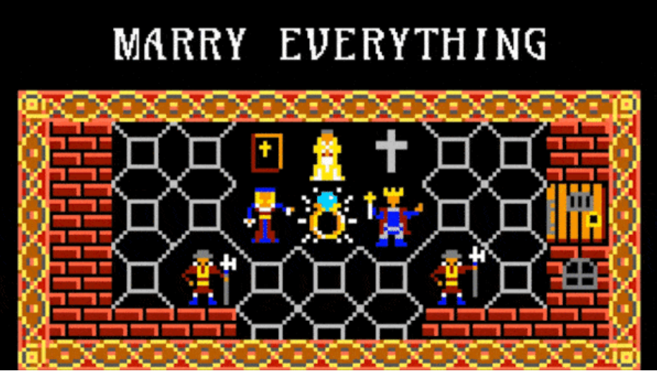 Marry everything: The satisfying sandbox of Fit for a King