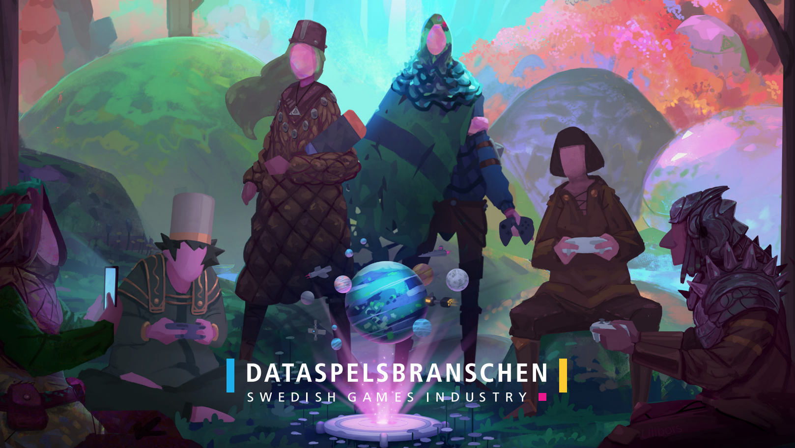 Swedish games industry generated €1.87bn in 2018, employs almost 8,000 people