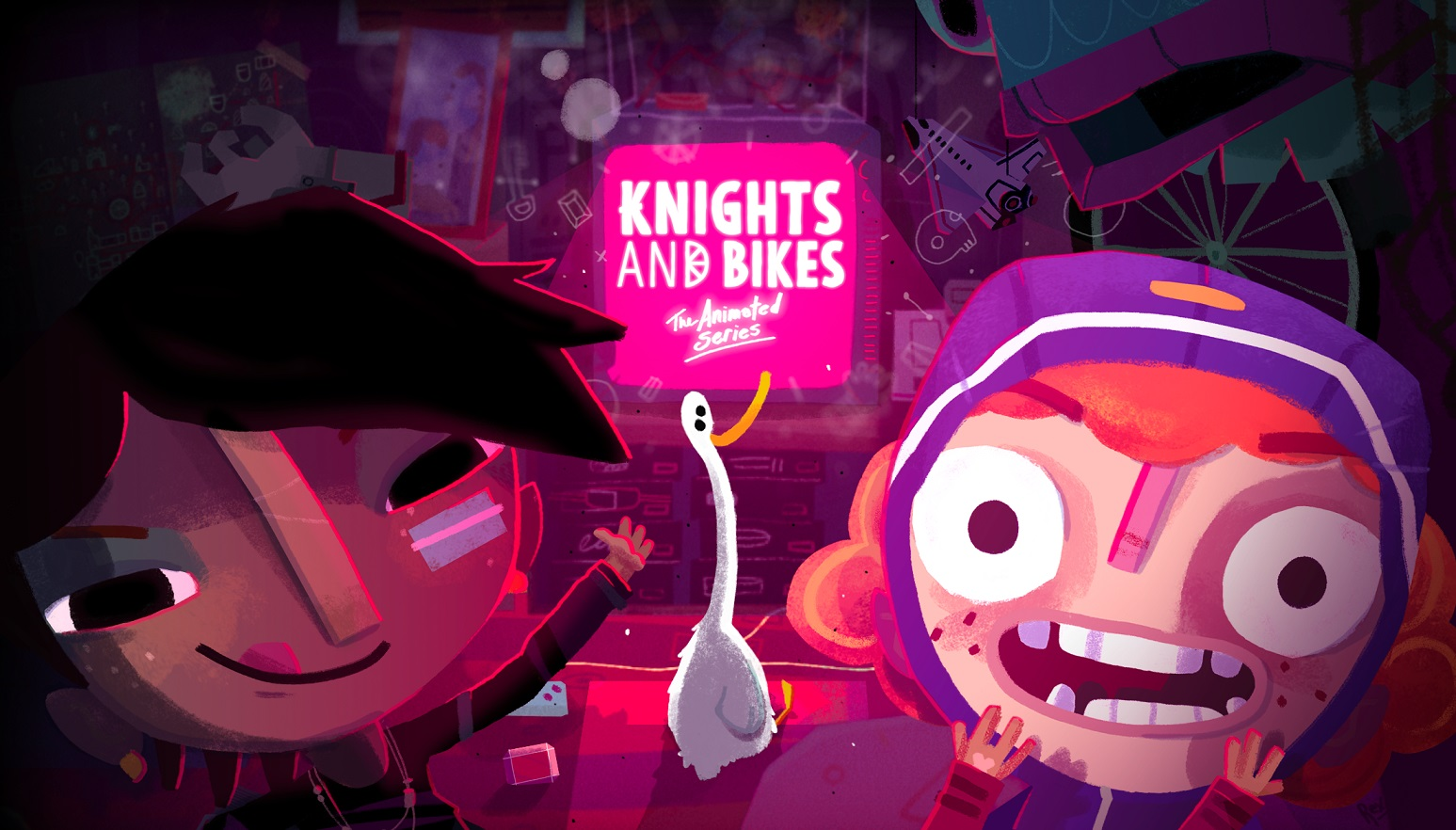Knights and Bikes TV show in the works