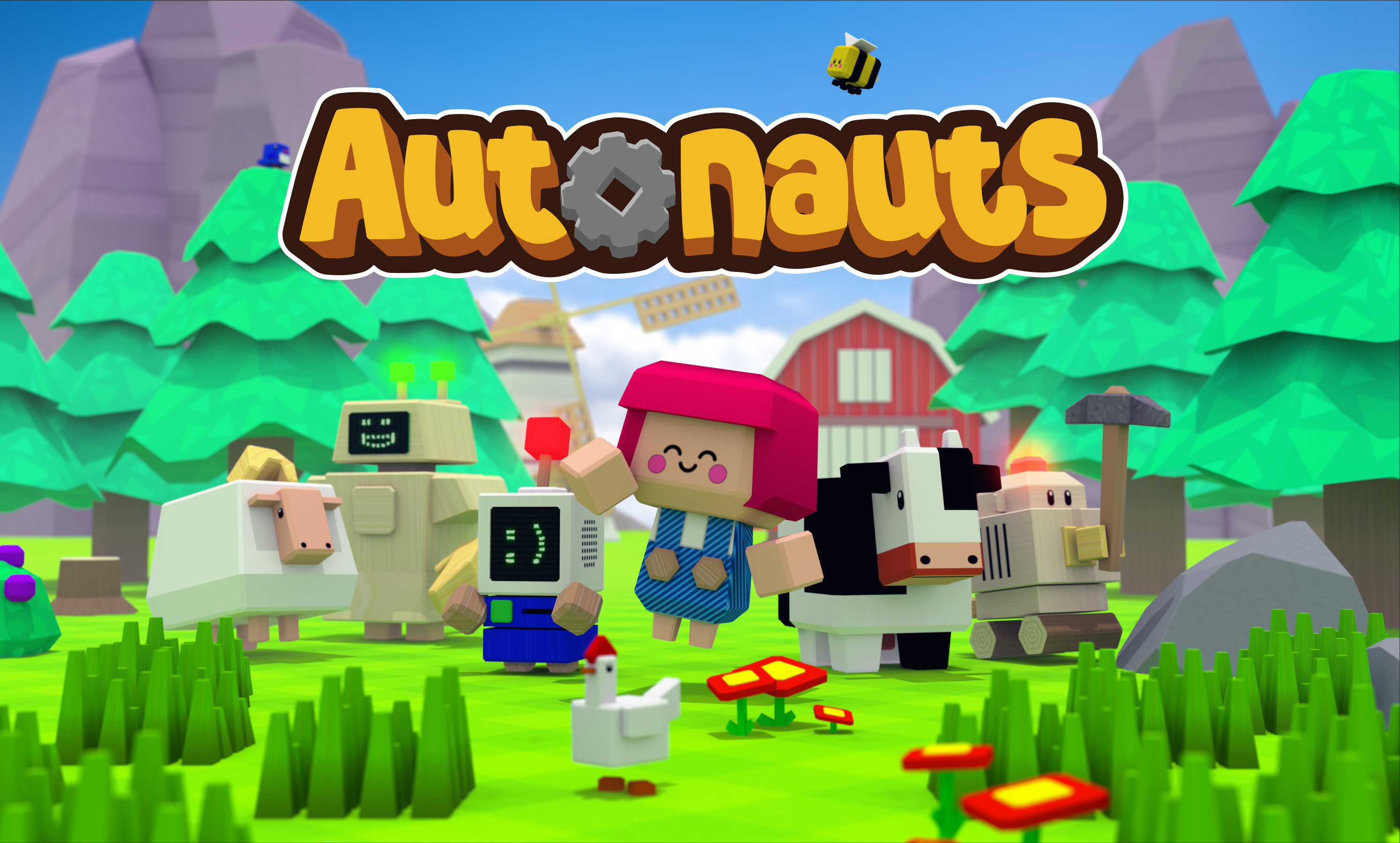 Autonauts: Motivating players without conflict