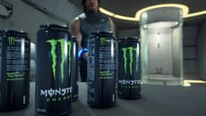 Monster branded Energy Drinks make an appearance - much like Calorie Mate meals in certain Metal Gear titles - but this time, the PBR materials and high polygon models give the impression of a perfect replica of the real thing.
