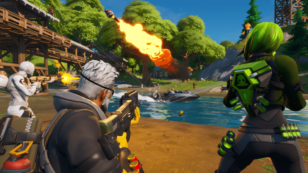 Another tester is being sued by Epic Games for leaking Fortnite Chapter 2