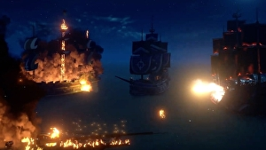 Sea of Thieves' November update adds new Tall Tales and fearsome fiery destruction