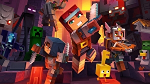 Minecraft Dungeons is launching in April next year