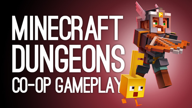 We Dungeon Crawl in Co-op Minecraft Dungeons
