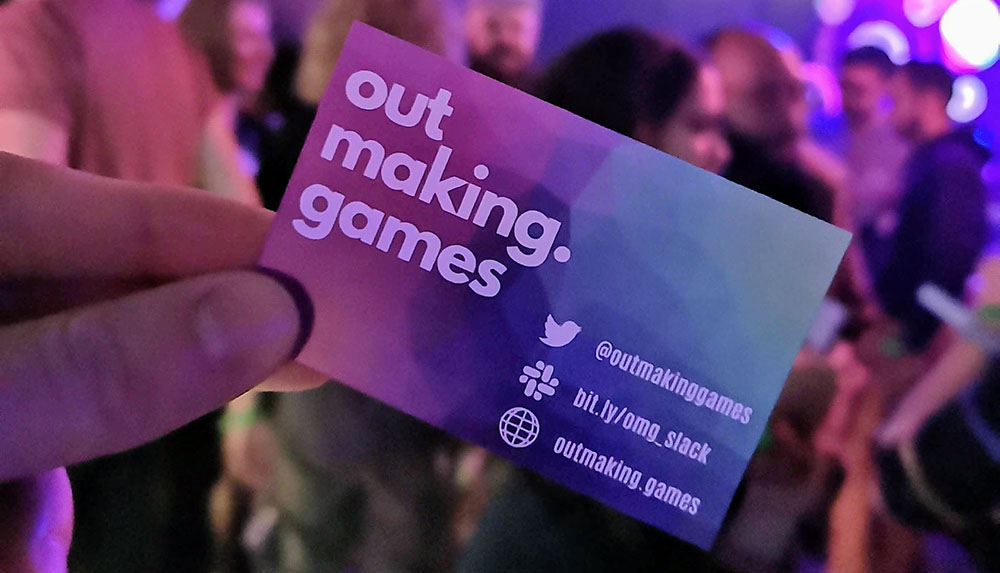 The origins of Out Making Games, the UK's first games industry LGBTQ+ network
