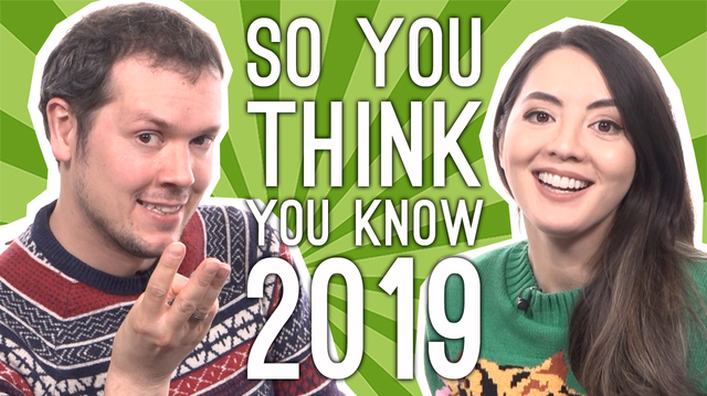 Quiz of the Year Reveals How Well We Remember 2019
