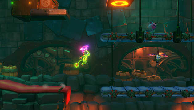 Yooka-Laylee and the Impossible Lair.