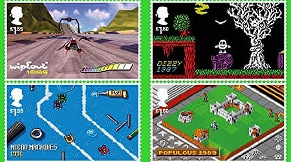 Royal Mail is putting Dizzy, Lemmings, and Elite on stamps