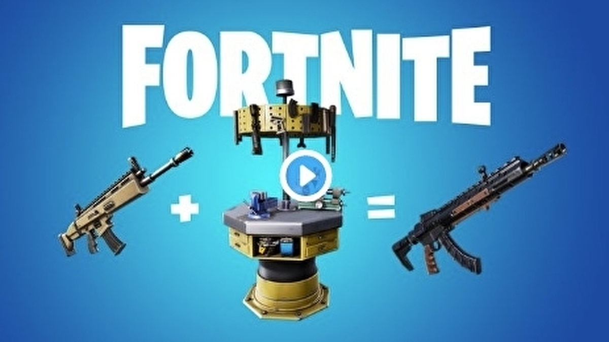 Fortnite's first update of 2020 adds weapon side-grading