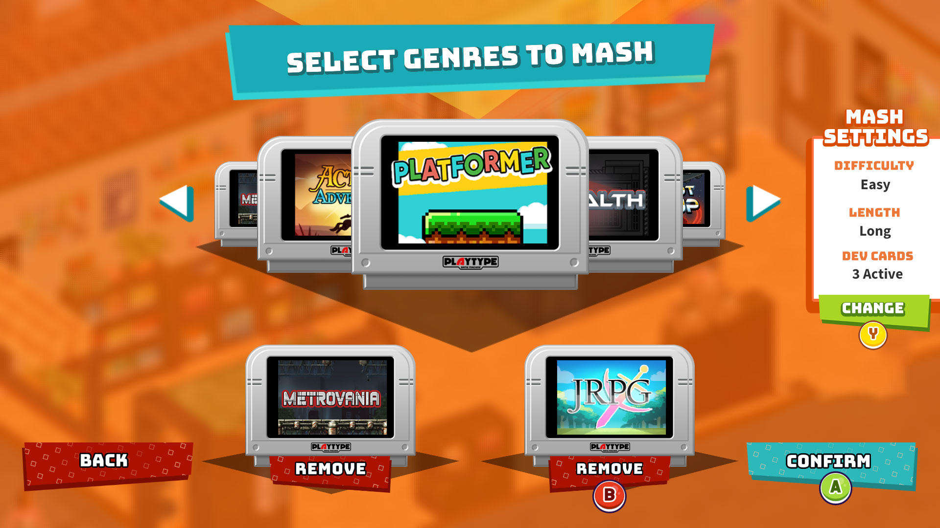 """The """"magic and chaos"""" of SuperMash, a game with seven different genres"""