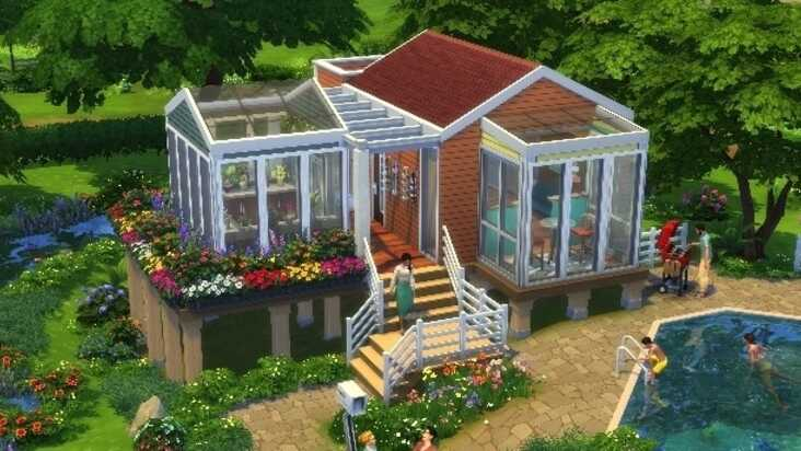 The Sims 4 Tiny Living Guide How To Get The Most Out Of Your Tiny Home Residential Lot Eurogamer Net