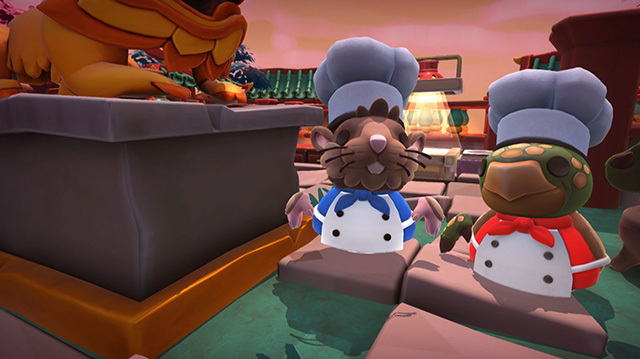 We Celebrate Lunar New Year in Overcooked 2's Spring Festival Update