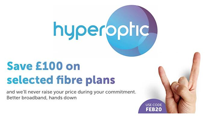 broadband deal Hyperoptic's latest gets you 500Mb for just £30 per month