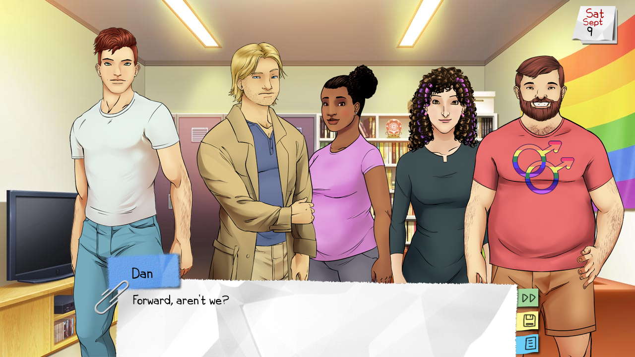 The risky business of sexuality in games