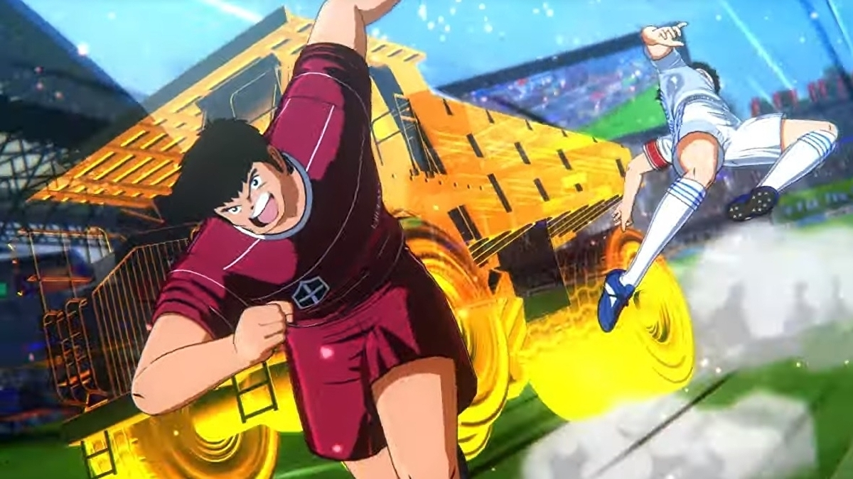 I don't know anything about Captain Tsubasa, but just kicking a ball in his new game looks awesome