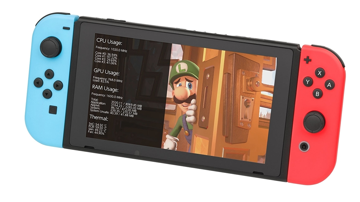 New Switch mod delivers real-time CPU, GPU and thermal monitoring – and the results are remarkable