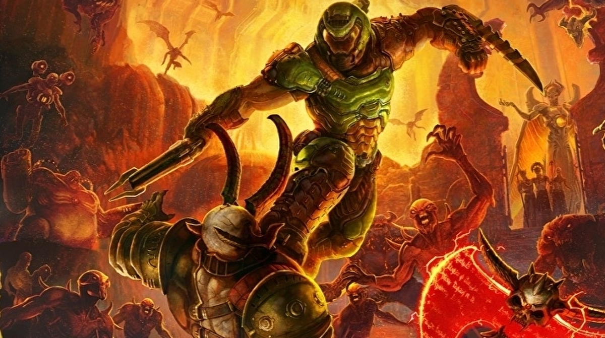 Doom Eternal review - the same orgiastic thrills with a creeping weight of story