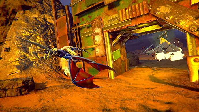 Panzer Dragoon: Remake review – flawed revisit to an off-kilter masterpiece