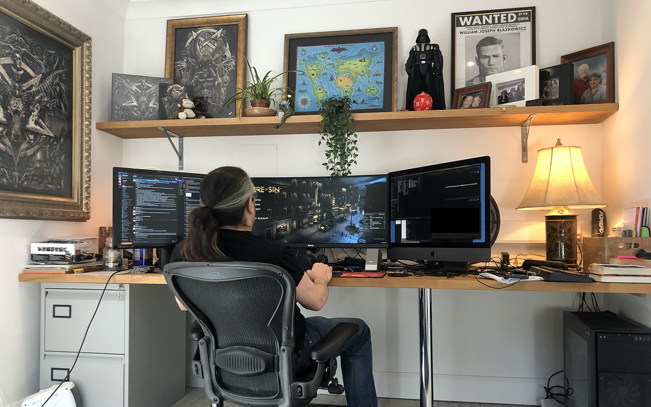 - Desk Jobs: Games Professionals Share Their Work-from-home Set-ups