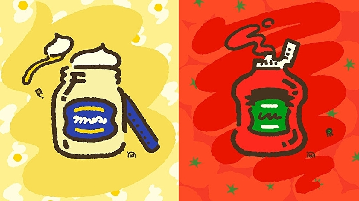 Splatoon 2 pitting ketchup against mayo again in special one-off Splatfest next month