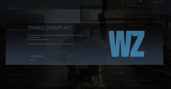 Crossplay Disabled Fortnite Sep 6 2019 The Curious Case Of Call Of Duty Warzone Crossplay Eurogamer Net