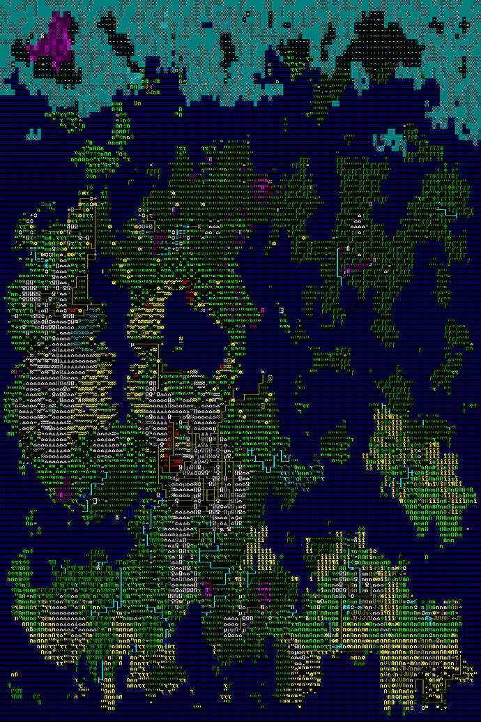 Dwarf Fortress' updated map is a whole new world