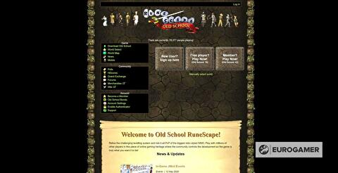 Clash Of Fans Old School Runescape And Shenmue Eurogamer Net