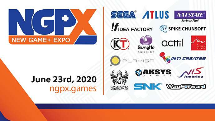 June's New Game + Expo conference to feature announcements from Sega, SNK, ASW and more