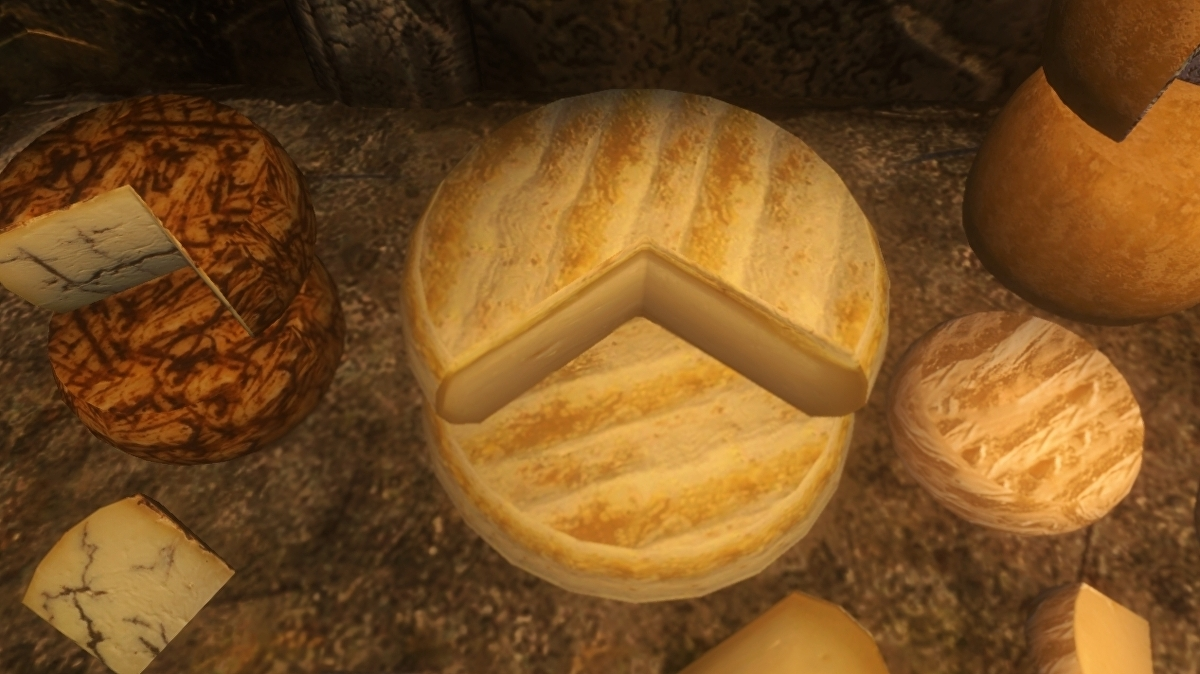 This Skyrim mod adds a 200-cheese treasure hunt