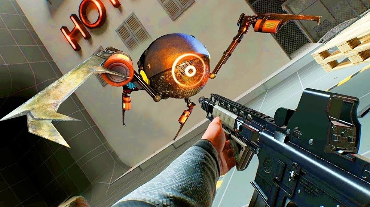 VR shooter smash Boneworks adds zombie arena, Boardgun tool and more