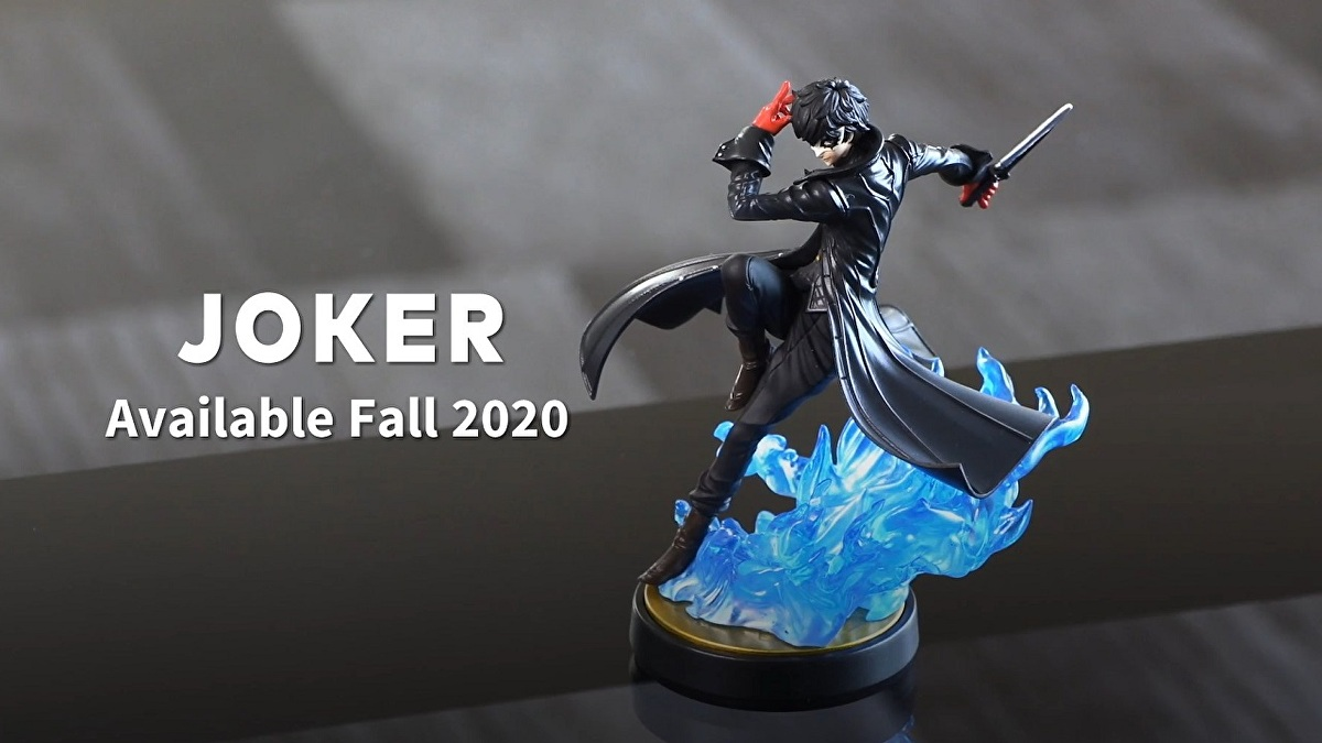 Joker and Dragon Quest Hero amiibo scheduled for release this autumn